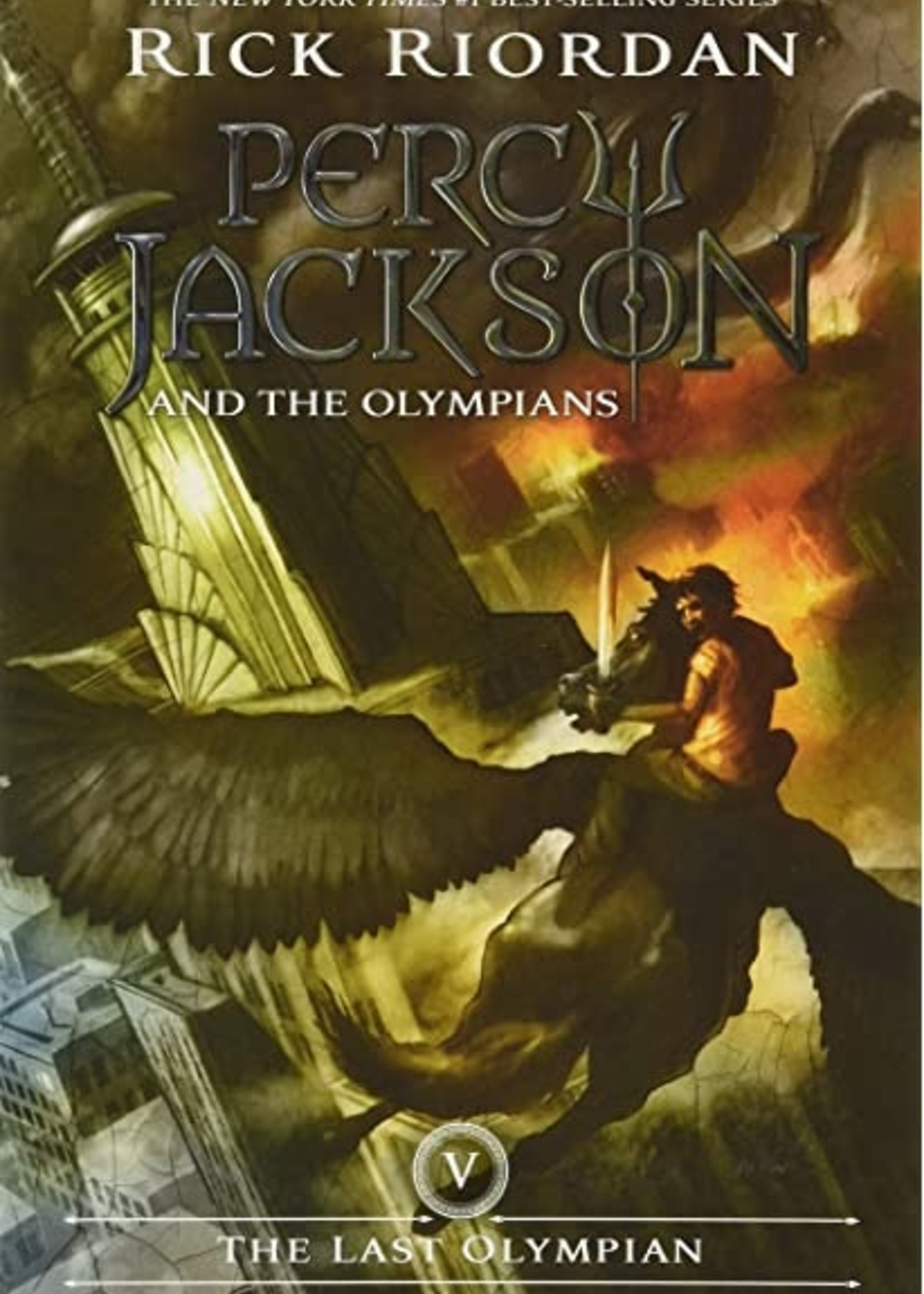 Percy Jackson and the Olympians #05, The Last Olympian - Paperback