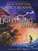 Percy Jackson and the Olympians #01, The Lightning Thief, Illustrated Edition - HC
