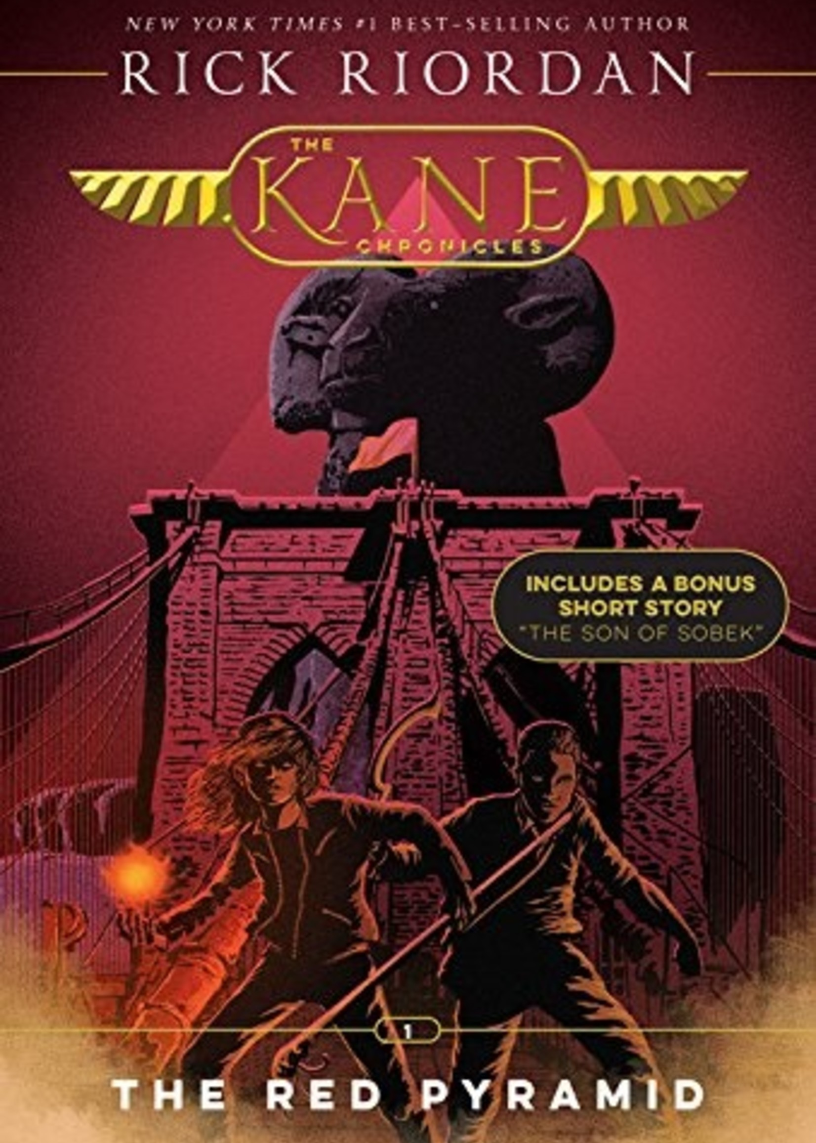 The Kane Chronicles #01, The Red Pyramid - Paperback