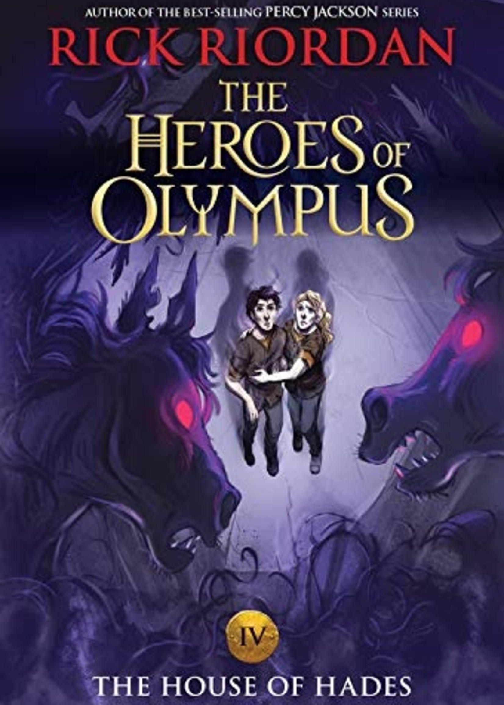The Heroes of Olympus #04, The House of Hades - Paperback