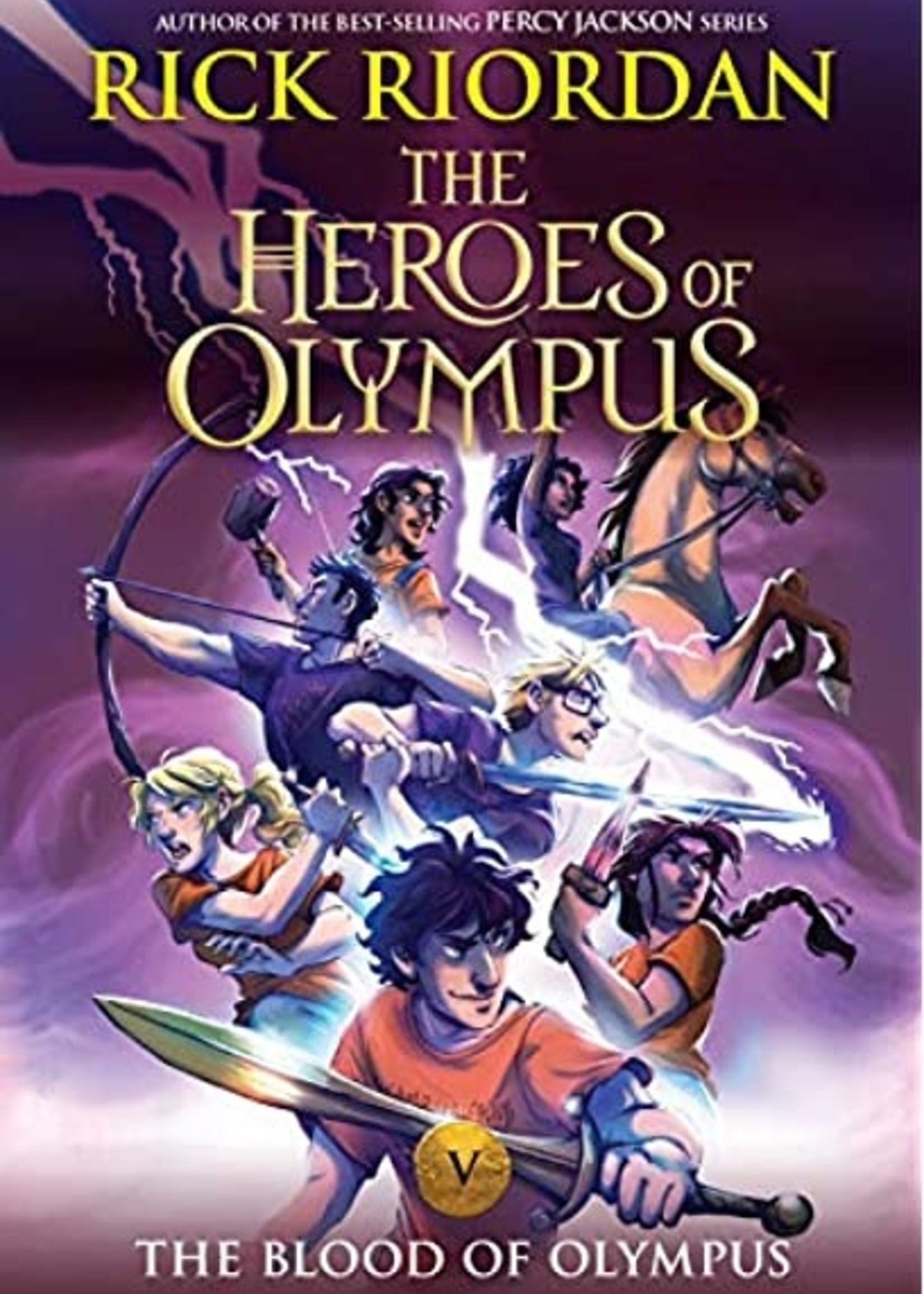 The Heroes of Olympus #05, The Blood of Olympus - Paperback
