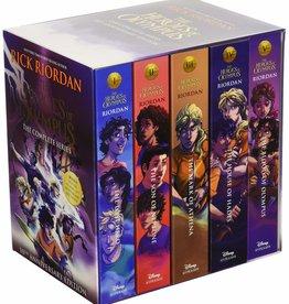 The Heroes of Olympus, Books #01-05, PB Set - Box