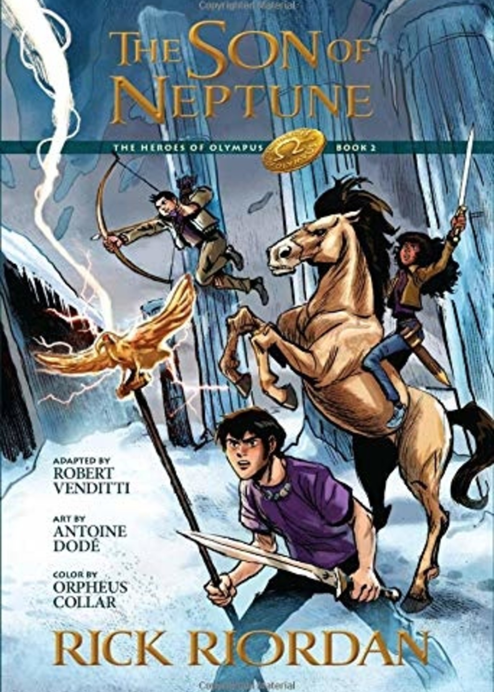 The Heroes of Olympus #02, The Son of Neptune Graphic Novel - Paperback