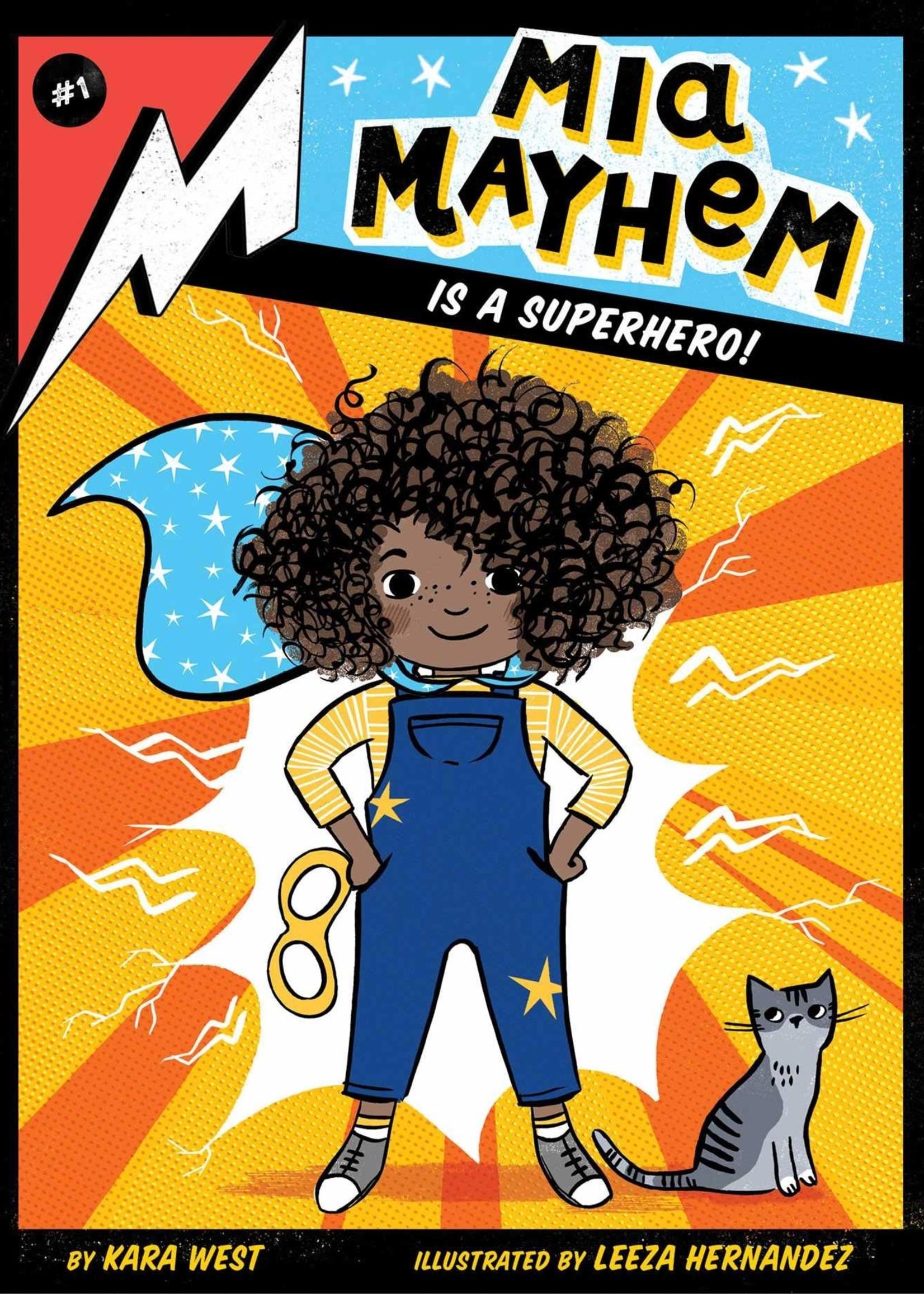 MIA Mayhem #01, Mia Mayhem Is a Superhero! - Paperback