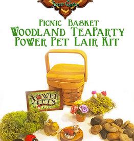 Power Pet  Woodland Picnic BasketTea Party Kit