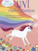 Uni the Unicorn, Uni Paints a Rainbow - BB