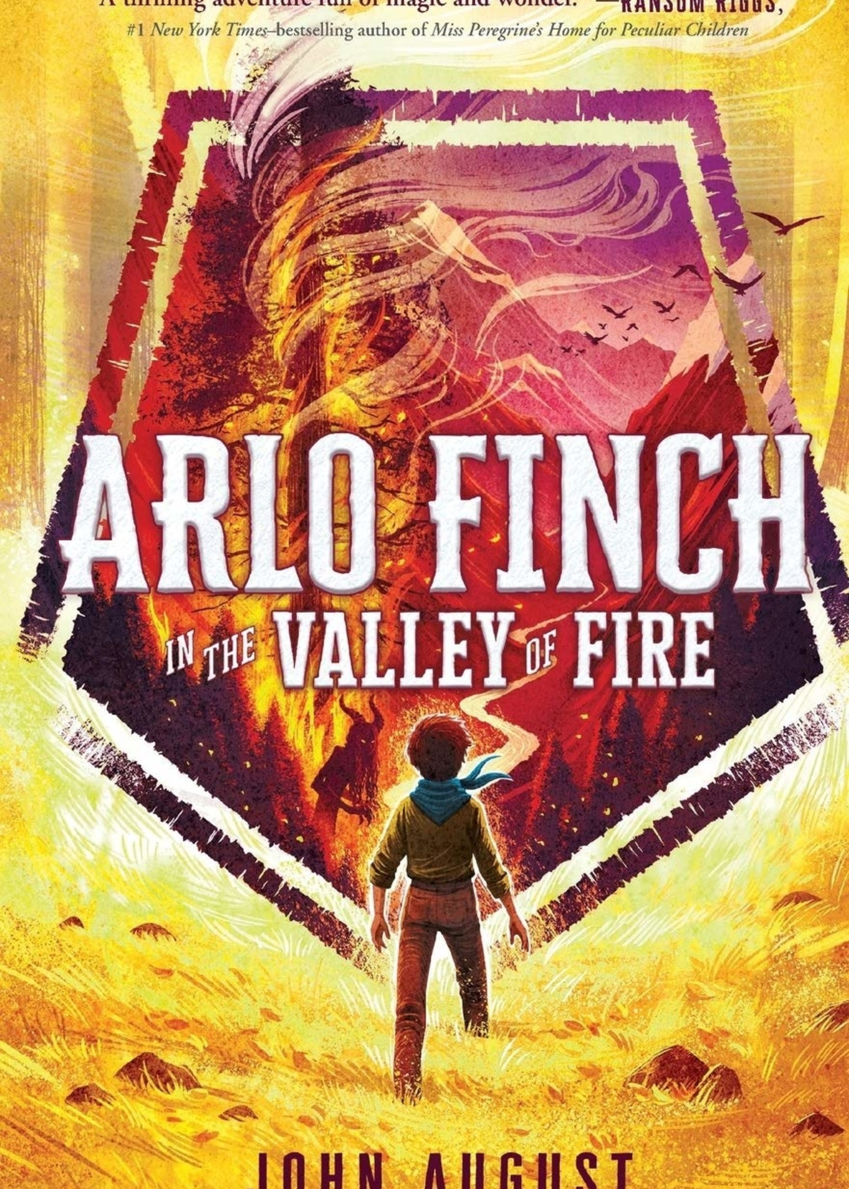 OBOB 21/22: Arlo Finch #01, Arlo Finch in the Valley of Fire - Paperback