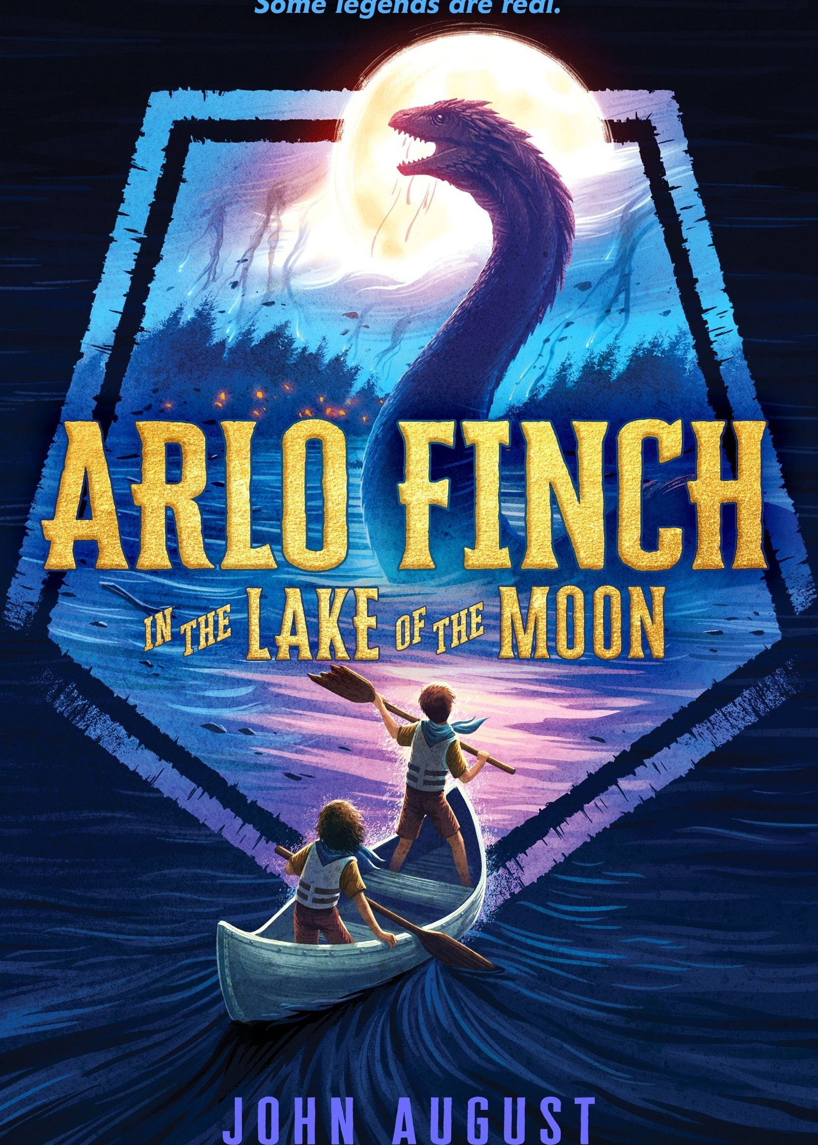 Arlo Finch #02, Arlo Finch in the Lake of the Moon - Paperback