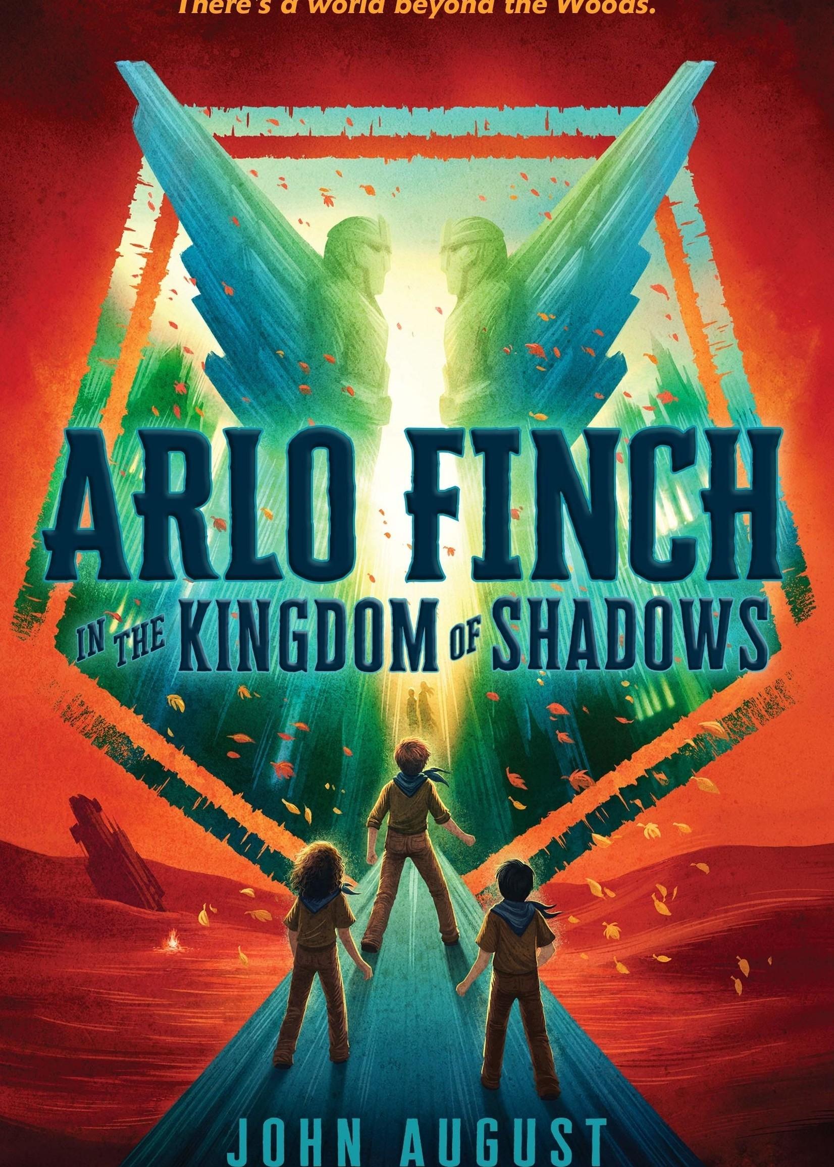 Arlo Finch #03, Arlo Finch in the Kingdom of Shadows - Paperback