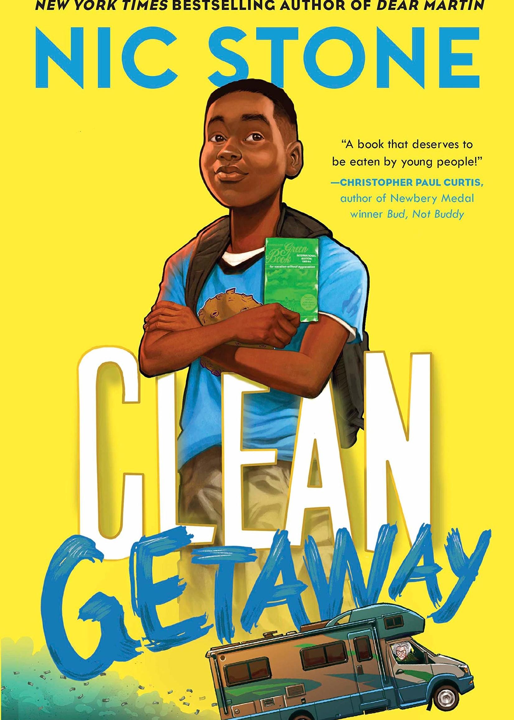 OBOB 21/22: Clean Getaway - Paperback