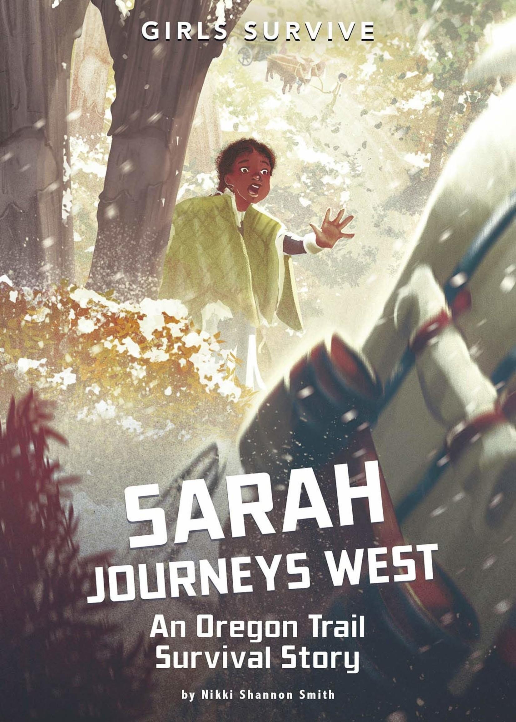 OBOB 21/22: Sarah Journeys West: An Oregon Trail Survival Story - Paperback