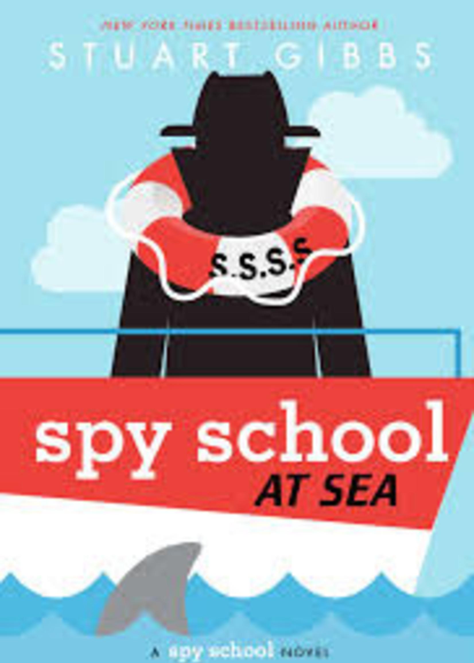 Spy School #09, Spy School at Sea - Hardcover