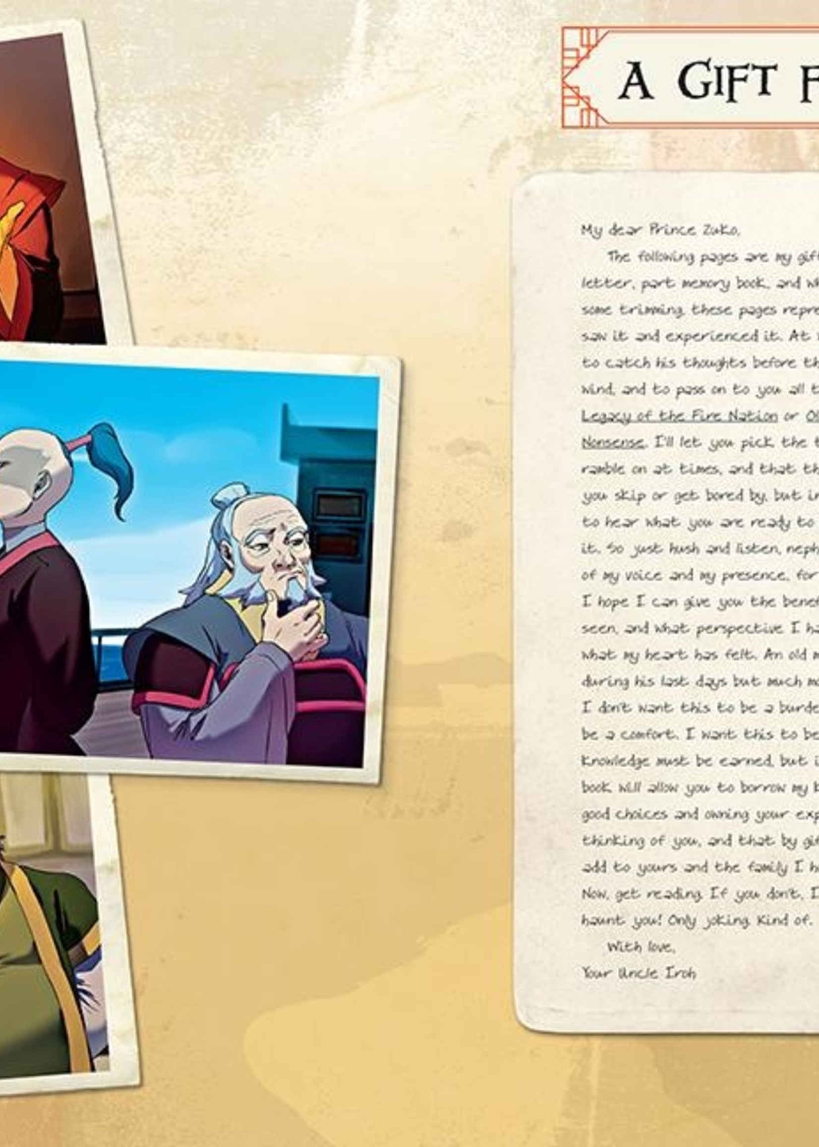 Avatar: The Last Airbender: Legacy of the Fire Nation - Hardcover