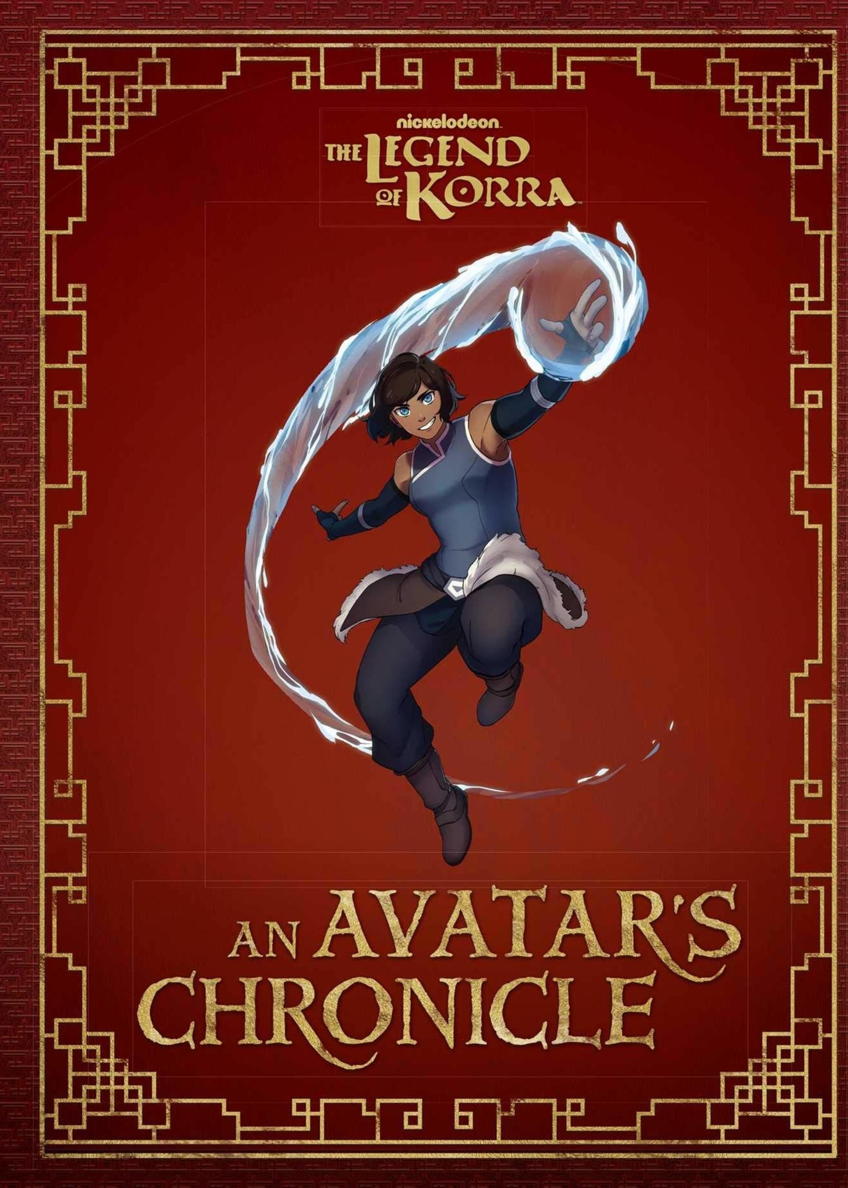 The Legend of Korra: An Avatar's Chronicle - Hardcover
