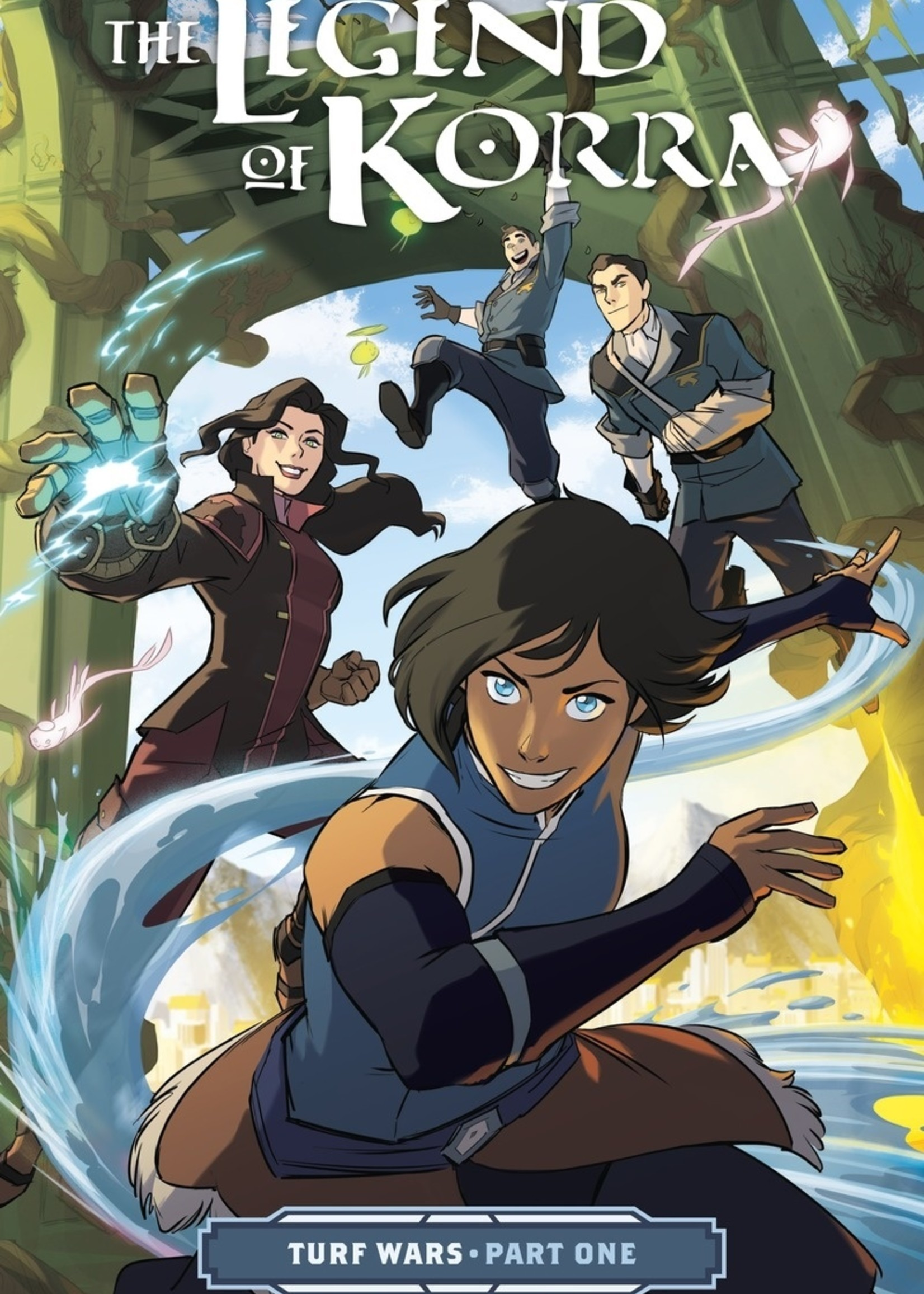 Dark Horse Comics The Legend of Korra Graphic Novel #01, Turf Wars Part 1 - Paperback