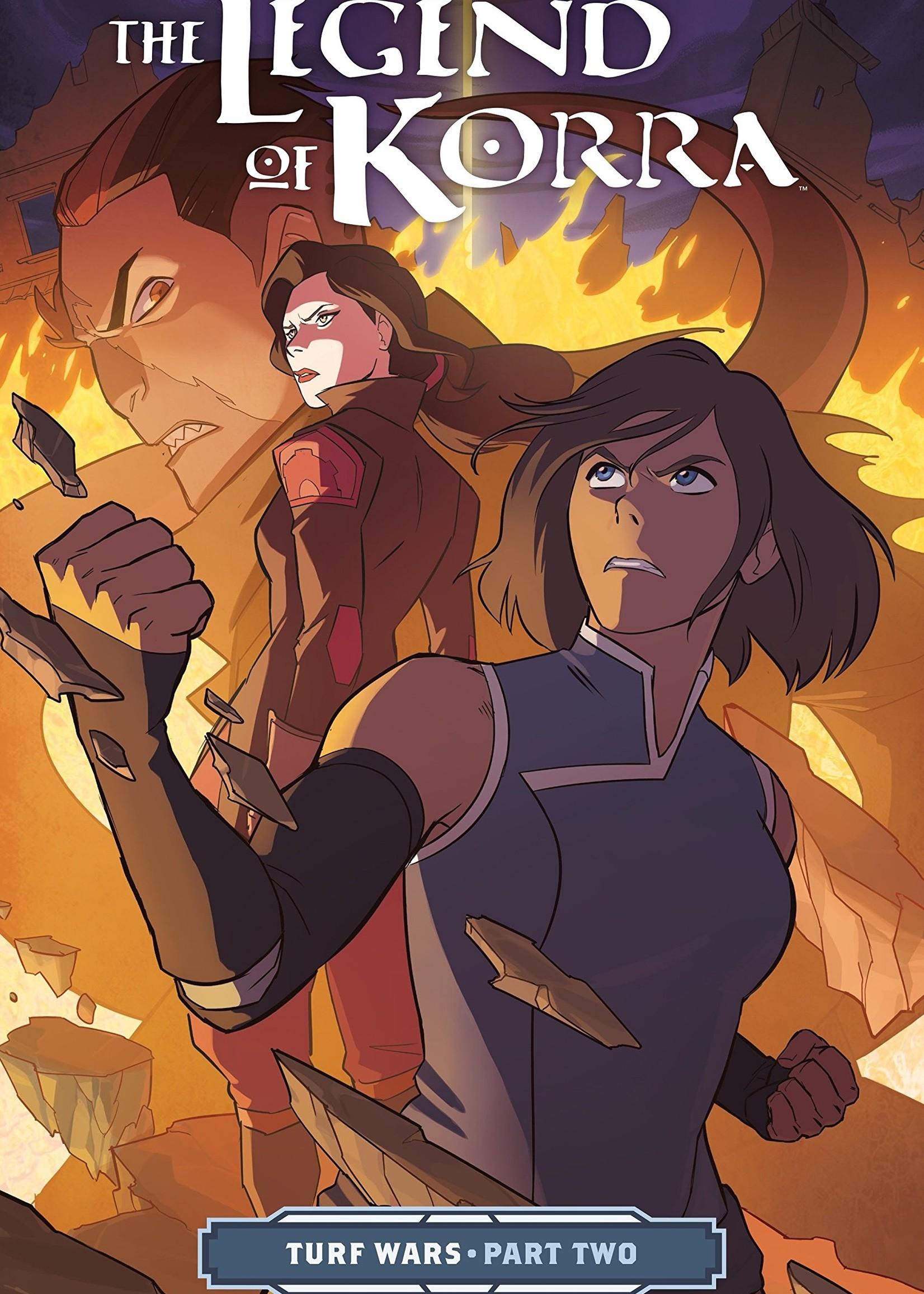 Dark Horse Comics The Legend of Korra Graphic Novel #02, Turf Wars Part 2 - Paperback