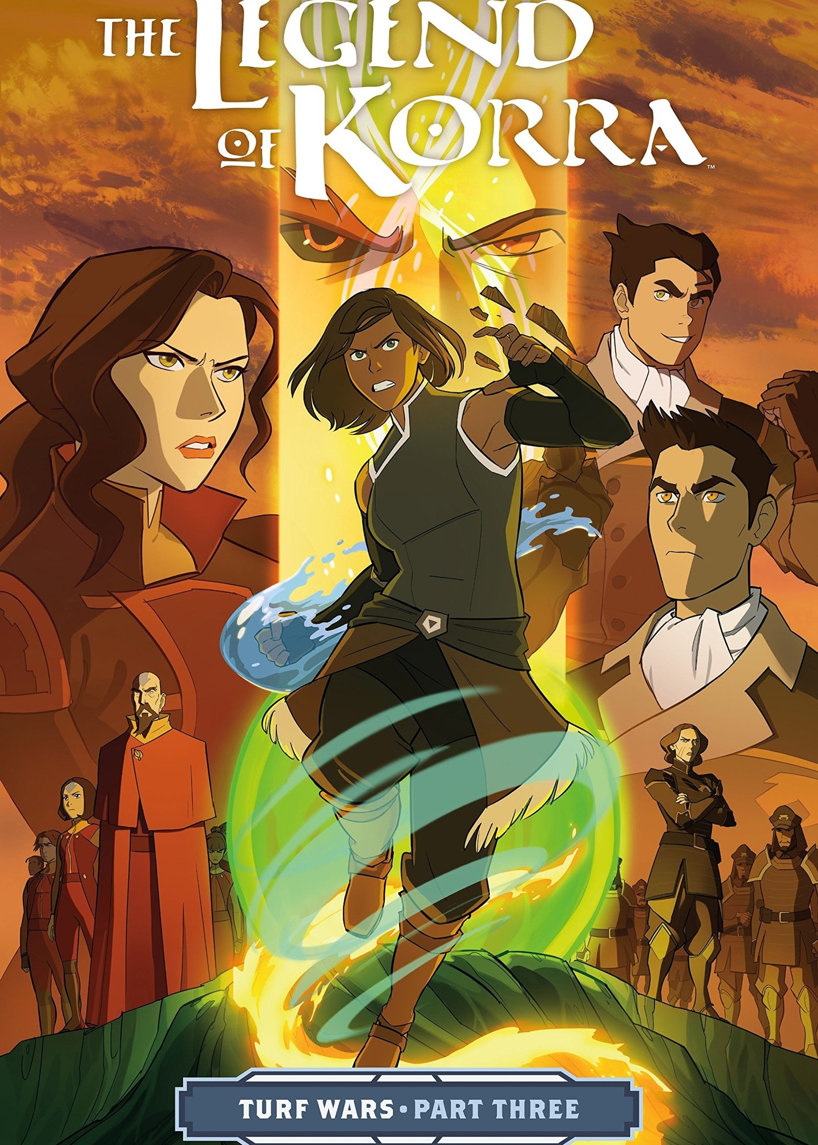 Dark Horse Comics The Legend of Korra Graphic Novel #03, Turf Wars Part 3 - Paperback