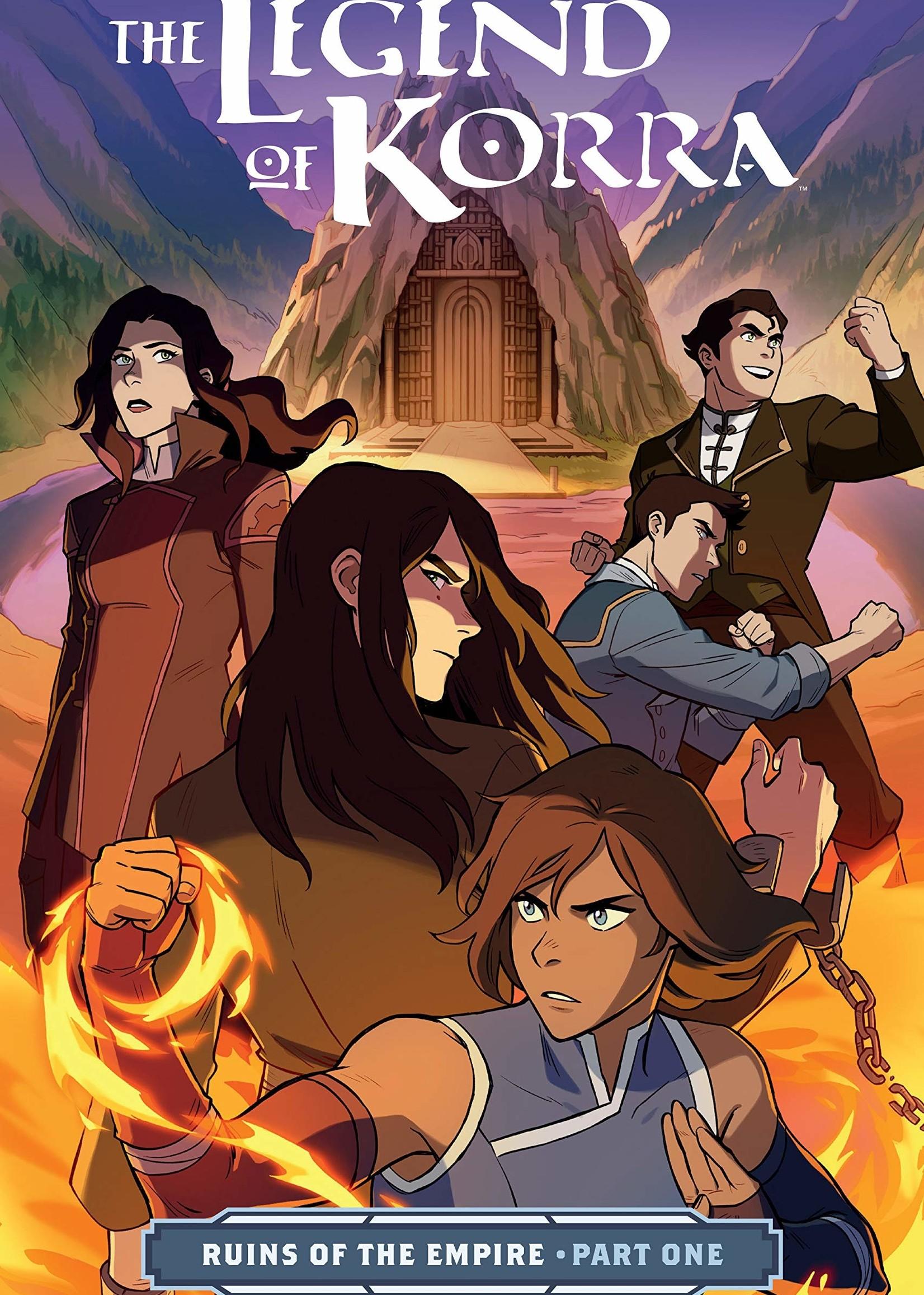 Dark Horse Comics The Legend of Korra Graphic Novel #04, Ruins of the Empire Part 1 - Paperback