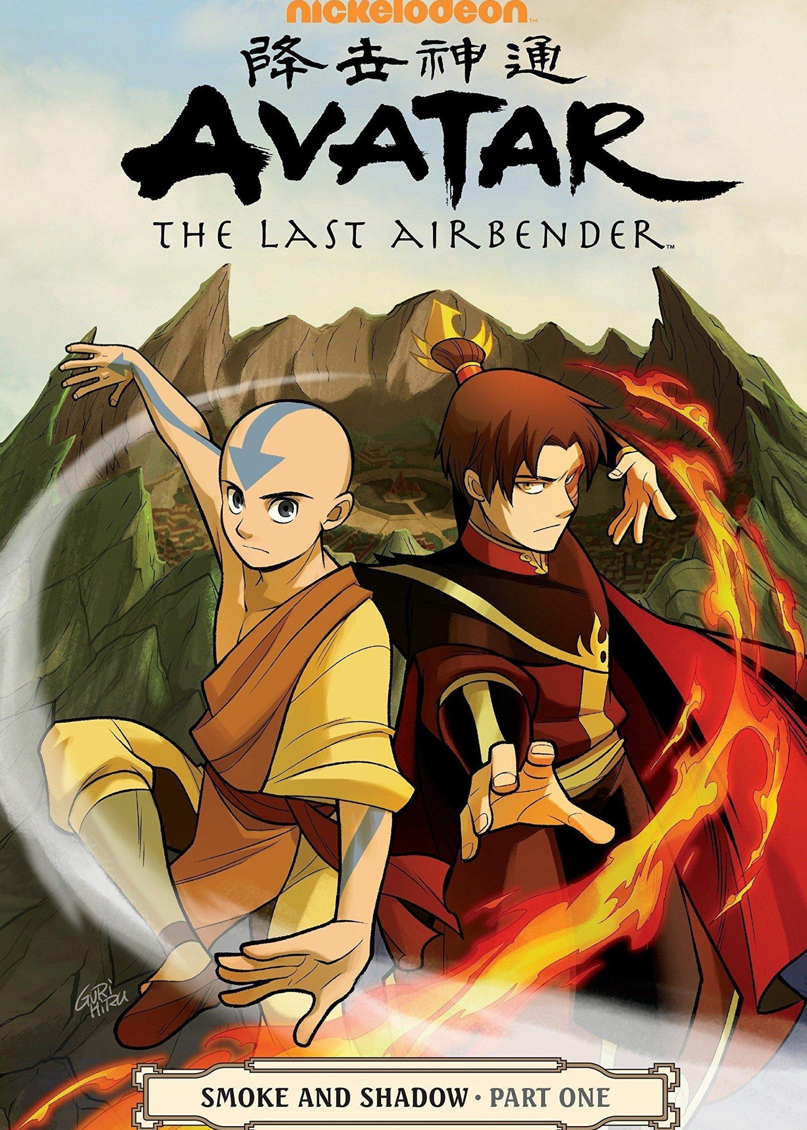 Dark Horse Comics Avatar: The Last Airbender Graphic Novel #10, Smoke and Shadow Part 1 - Paperback