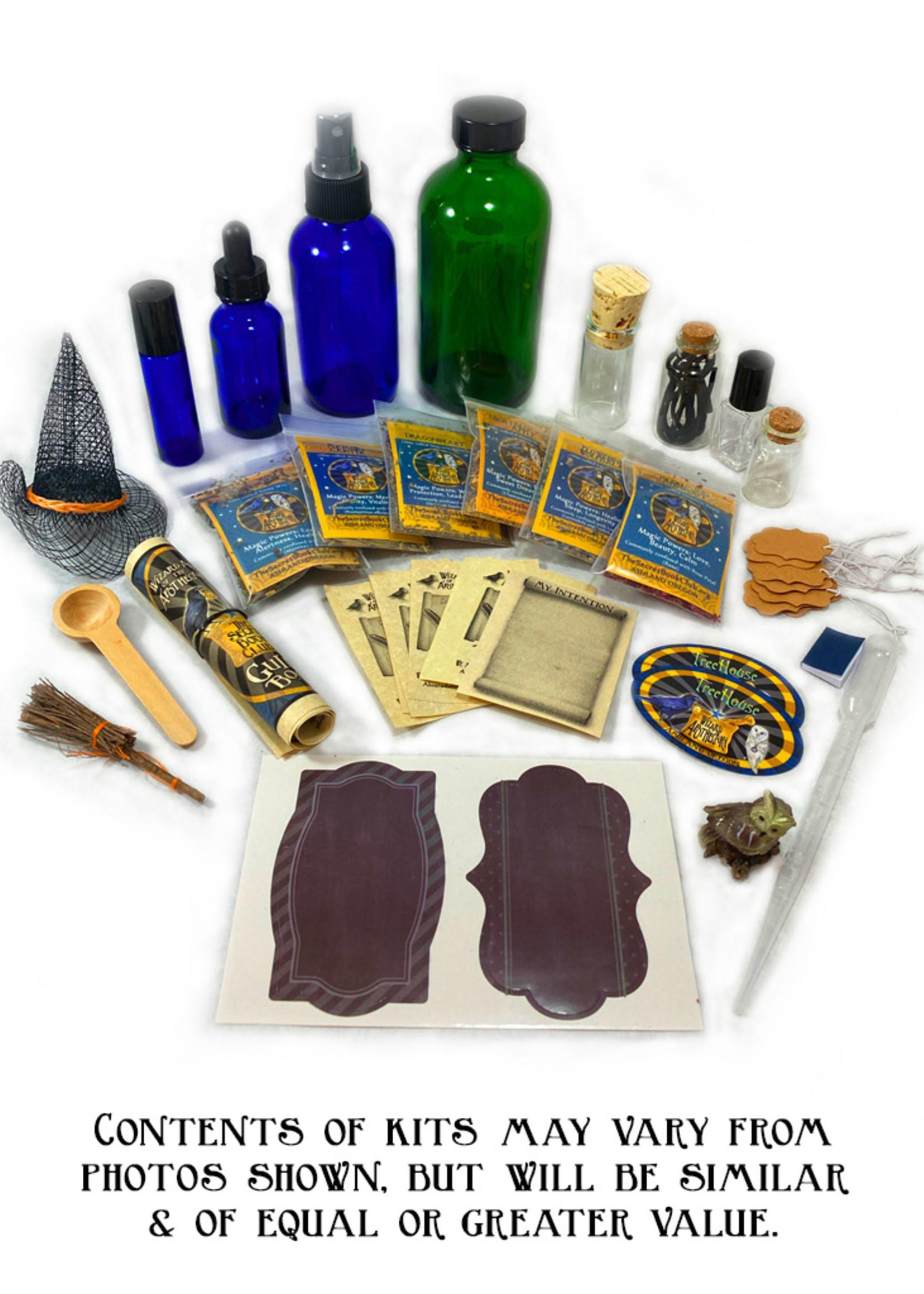 LadyJane Studios Secret Book of Griffin Magic Potion Kit