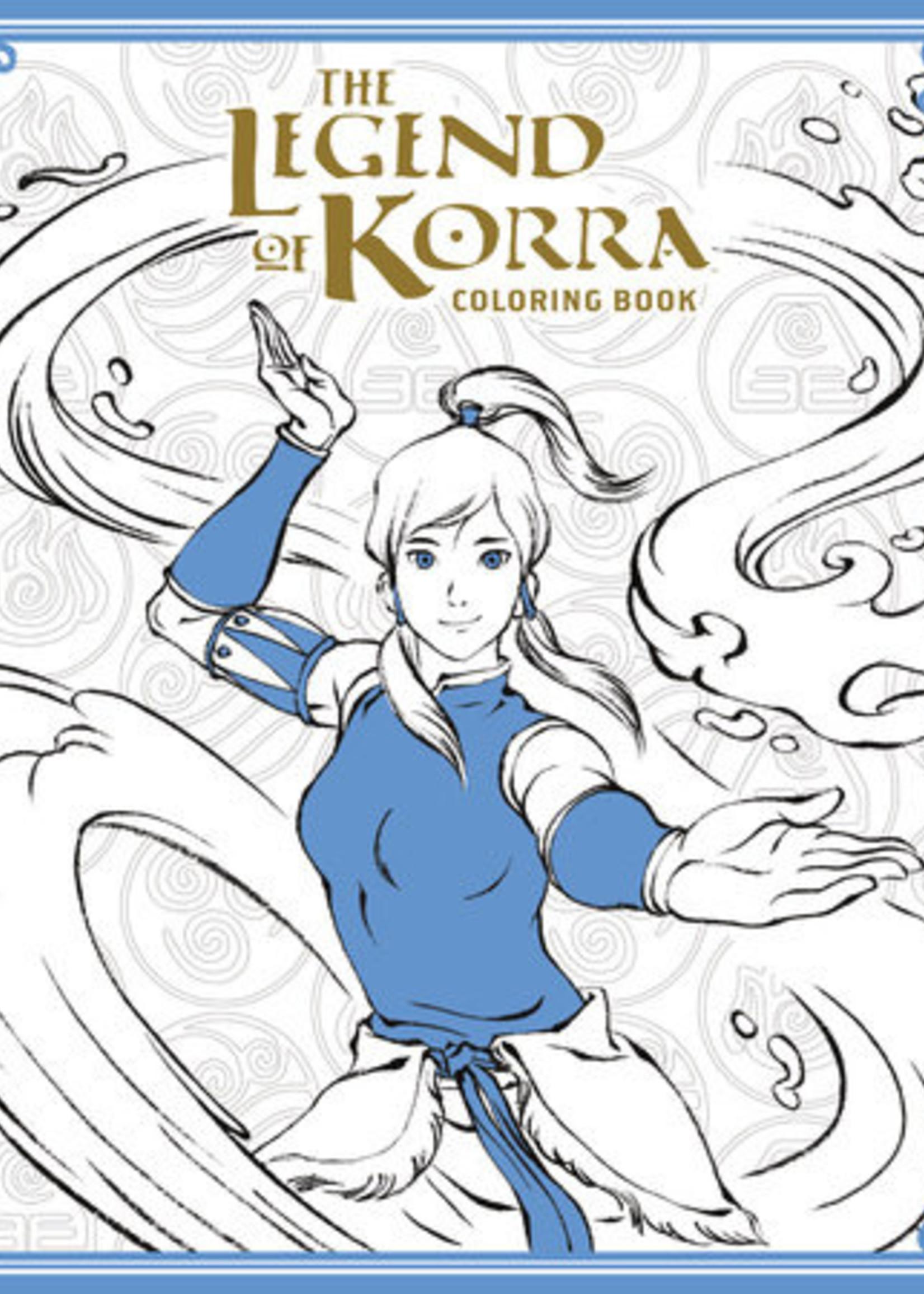 Dark Horse Comics The Legend of Korra Coloring Book - Paperback