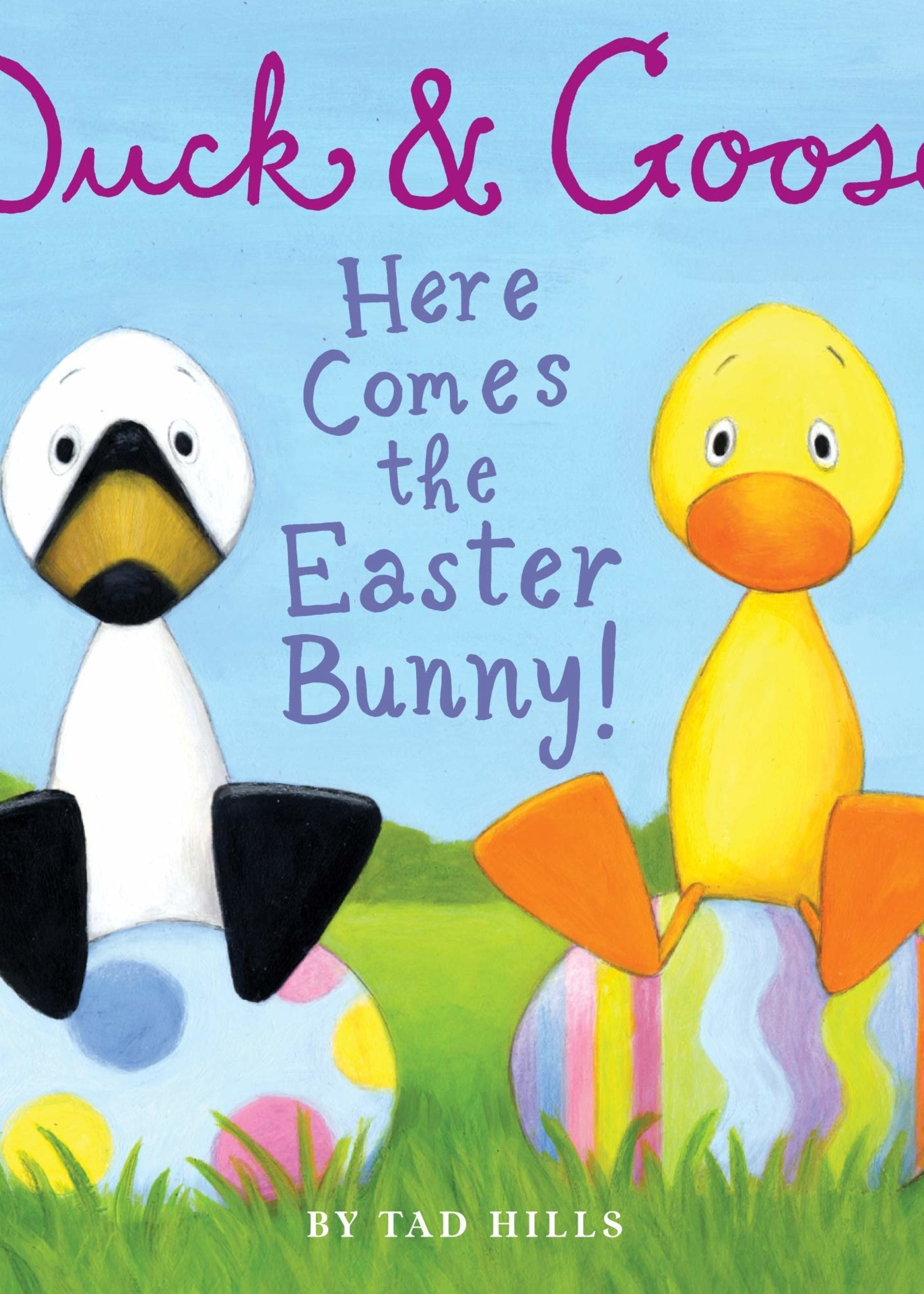 Duck & Goose, Here Comes the Easter Bunny - Board Book