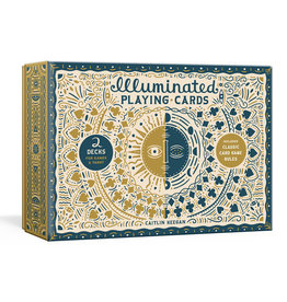 Illuminated Playing Cards: Two Decks for Games and Tarot - Box