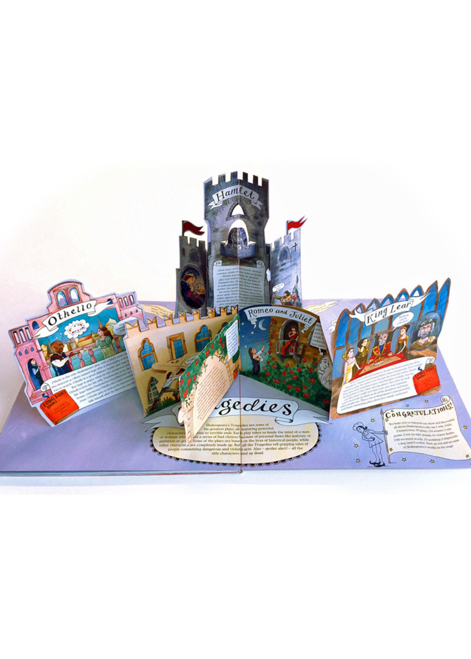 Pop-Up Shakespeare, Every Play and Poem in Pop-Up 3-D - Hardcover