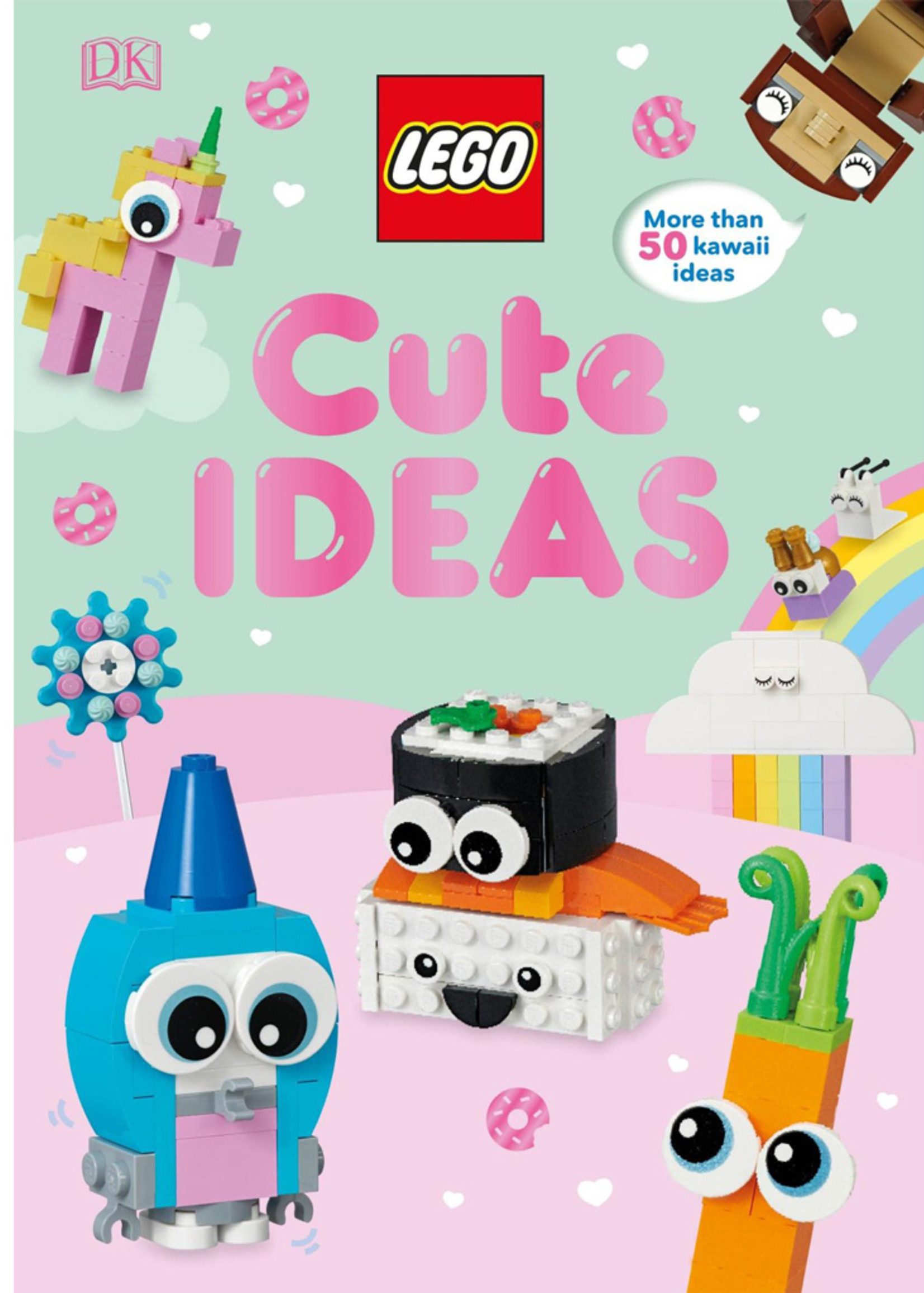 LEGO Cute Ideas: With Exclusive Owlicorn Mini Model - Hardcover