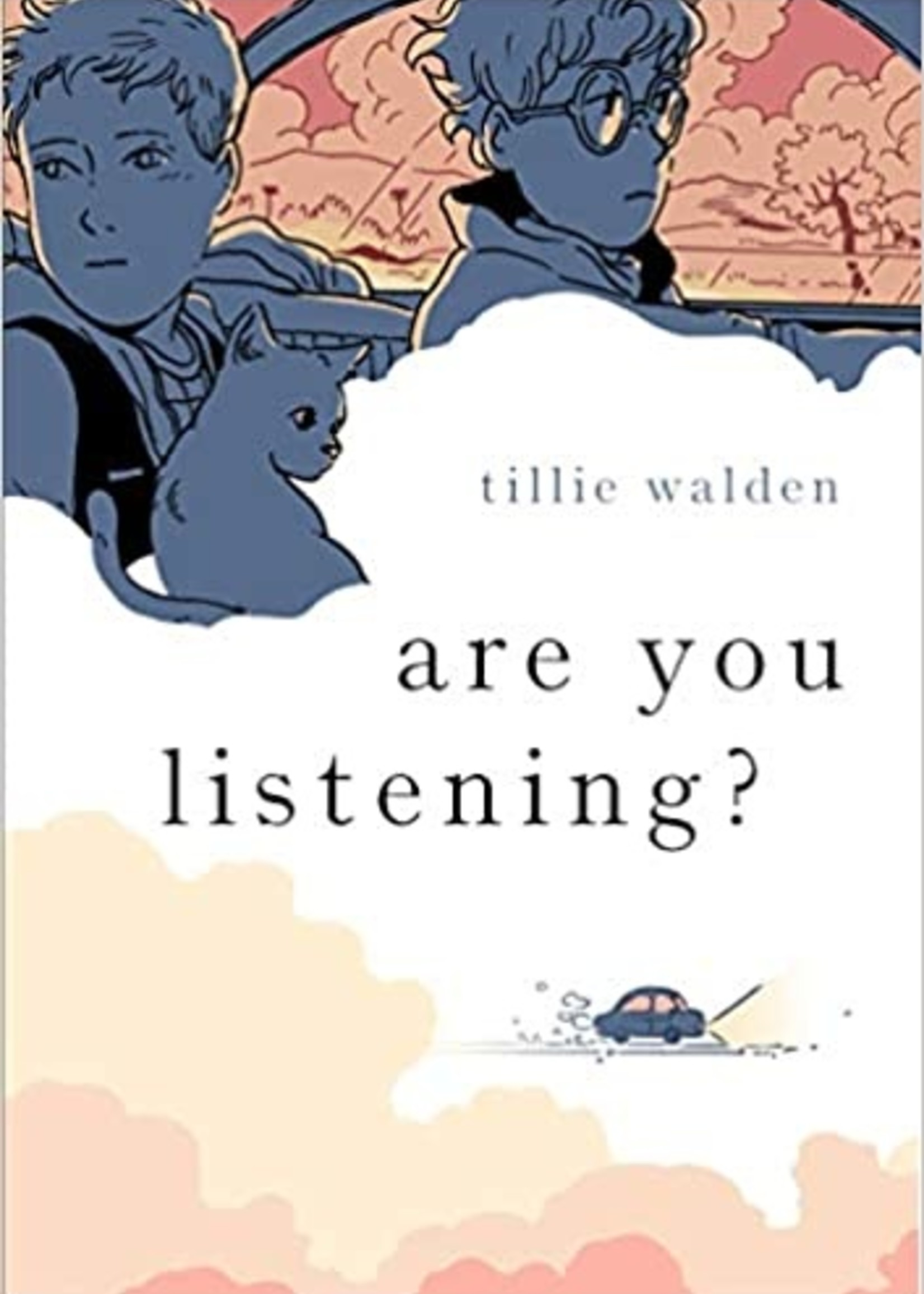 Are You Listening? Graphic Novel - Paperback