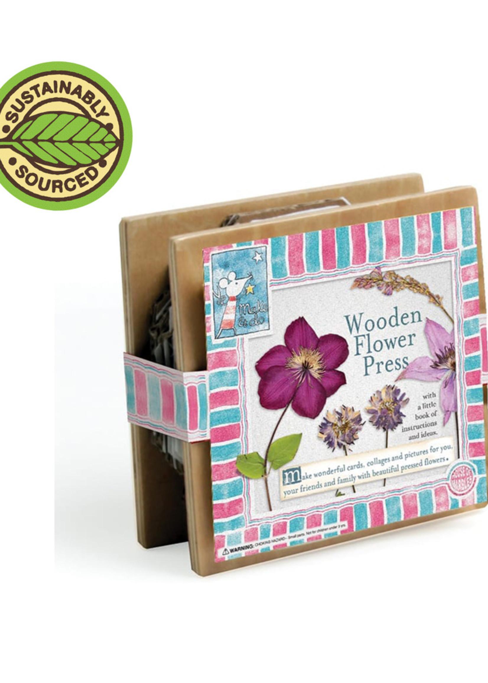 Mini Wooden Flower Press