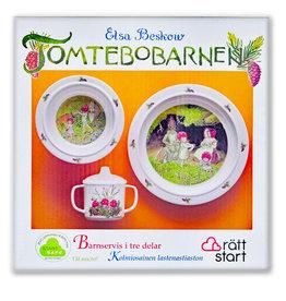 Elsa Beskow Tableware Set, Children of the Forest, 3pc
