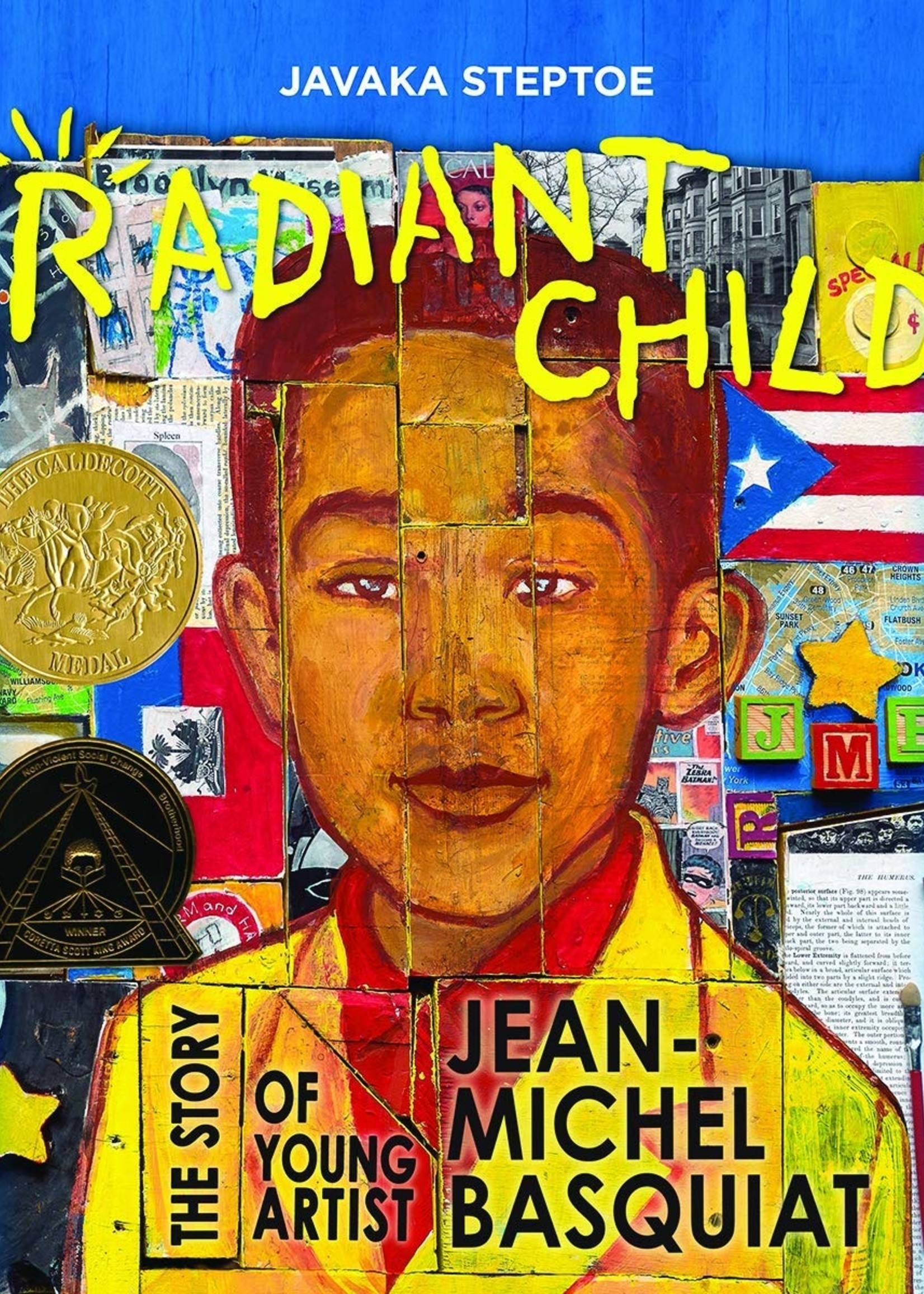 Radiant Child, The Story of Young Artist Jean-Michel Basquiat - Hardcover