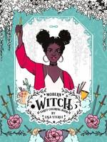 Modern Witch Tarot Coloring Book - PB