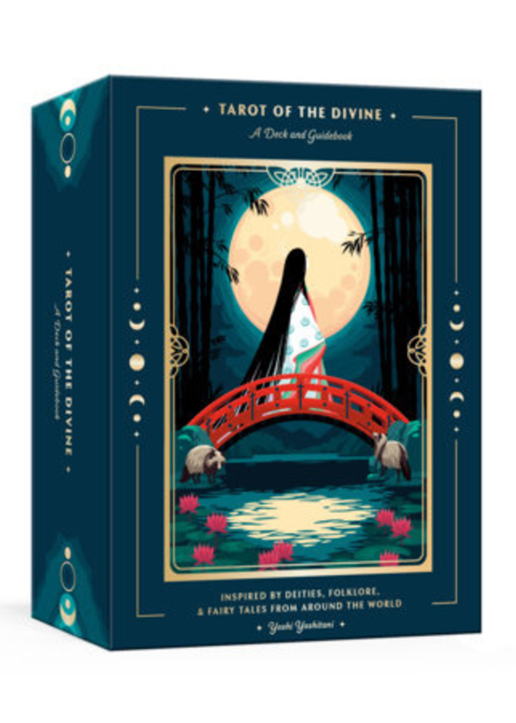 Tarot of the Divine: A Deck and Guidebook Inspired by Deities, Folklore, and Fairy Tales from Around the World - Box