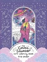 The Cosmic Slumber Tarot Coloring Book - PB