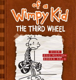 Diary of a Wimpy Kid IN #07, The Third Wheel - HC