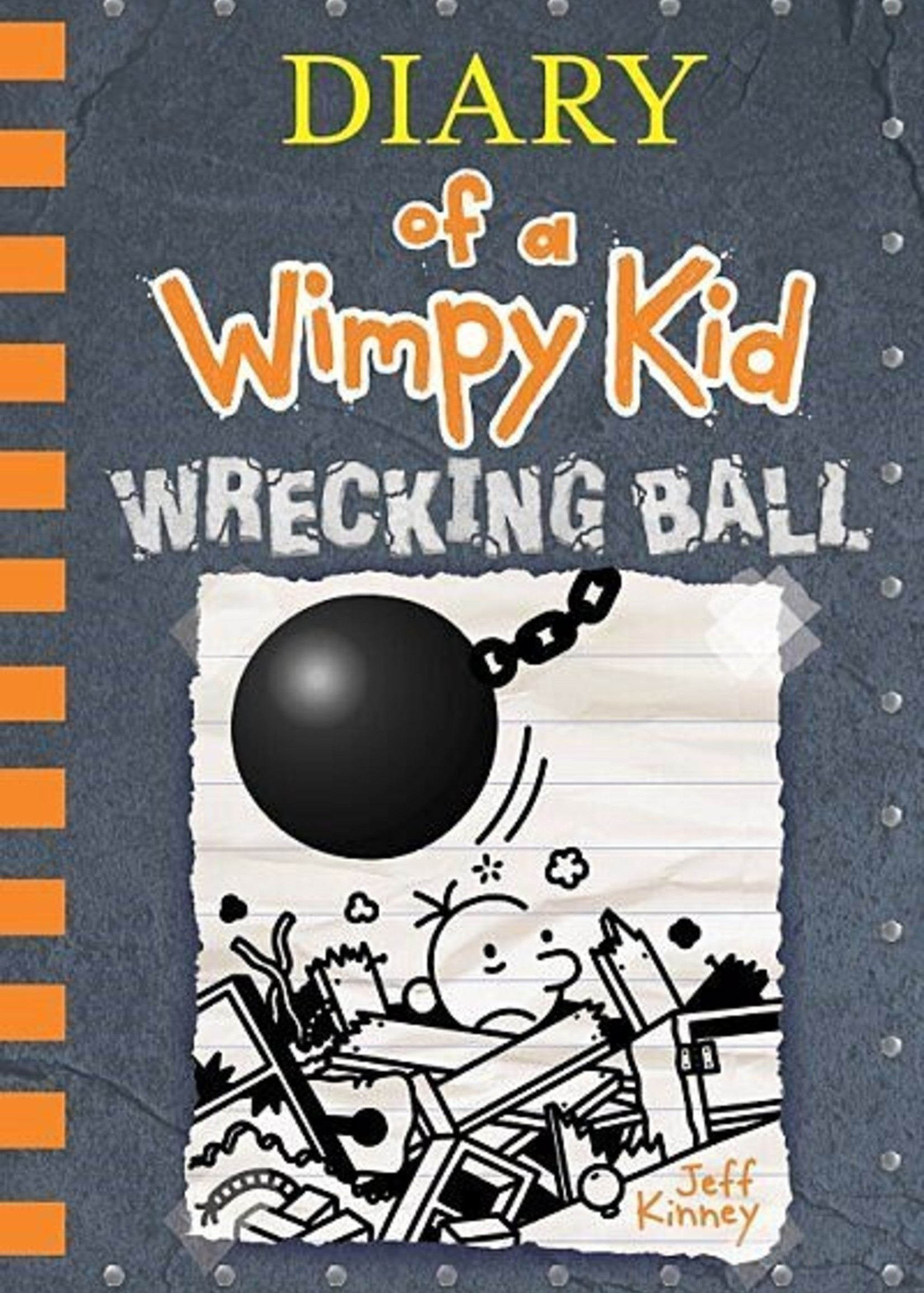 Diary of a Wimpy Kid Illustrated Novel #14, Wrecking Ball - Hardcover