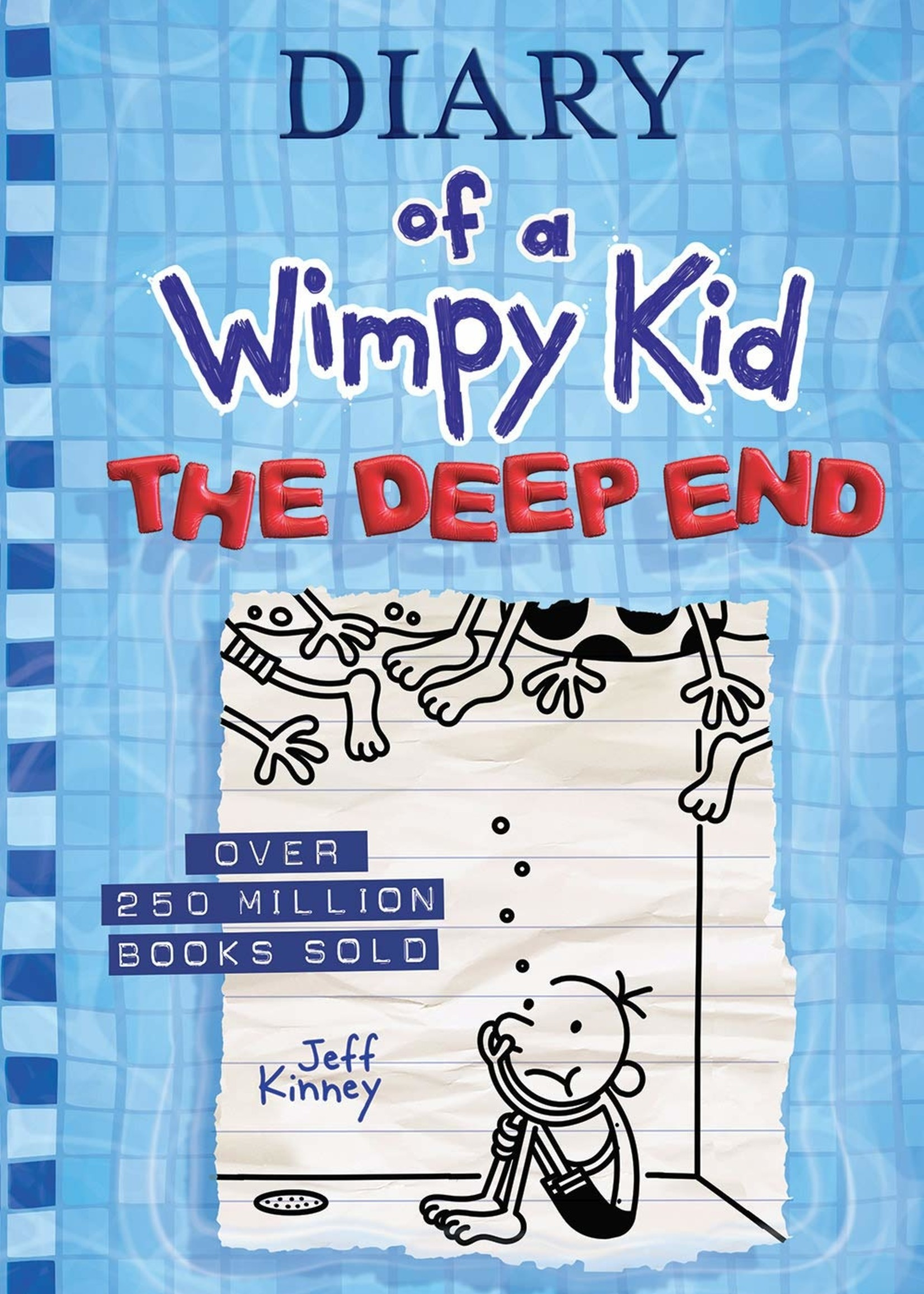 Diary of a Wimpy Kid Illustrated Novel #15, The Deep End - Hardcover