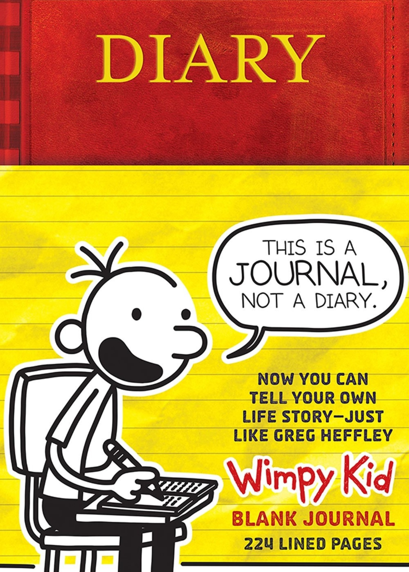Diary of a Wimpy Kid Blank Journal - Hardcover