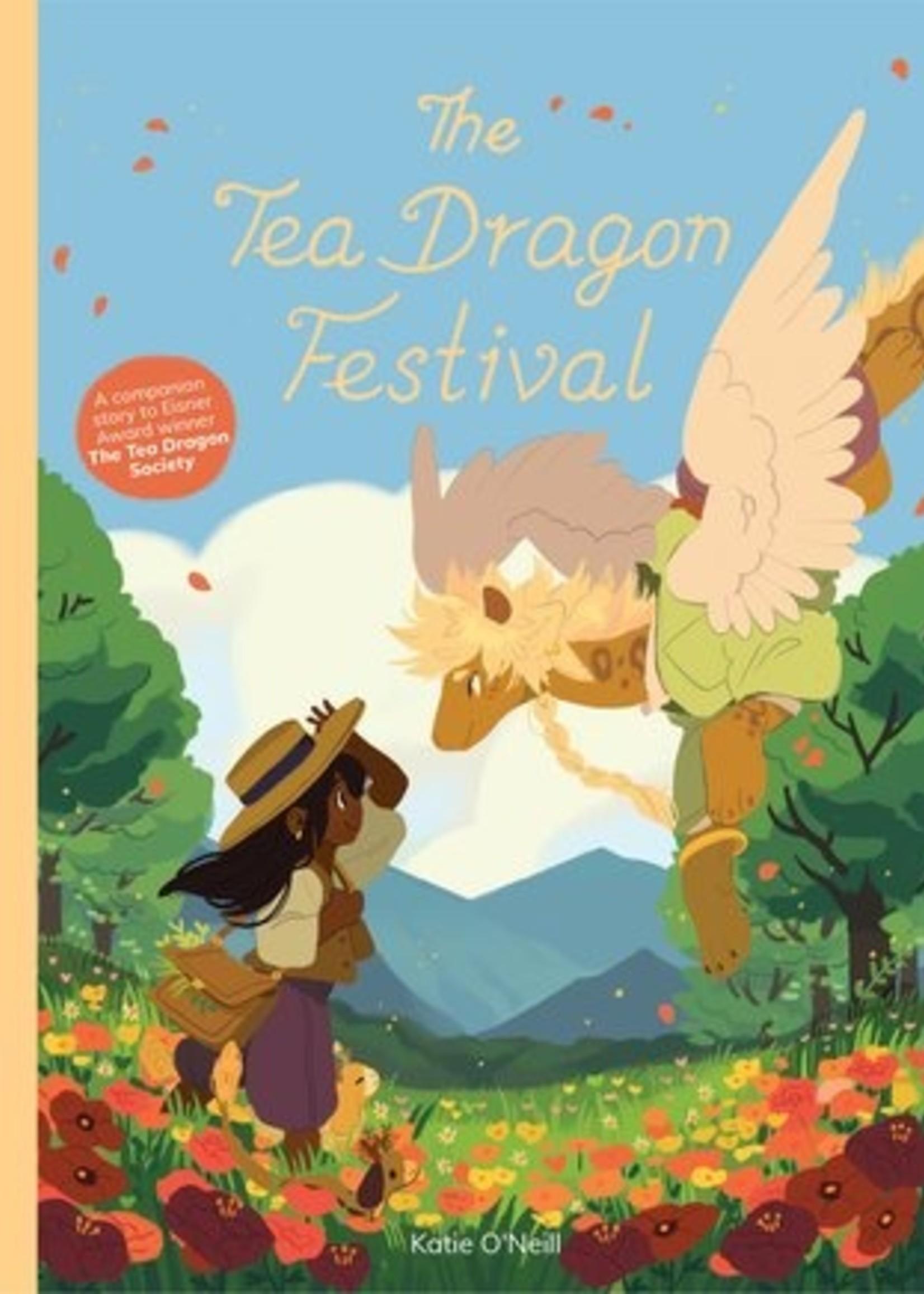 The Tea Dragon Society Graphic Novel #02, The Tea Dragon Festival - Paperback