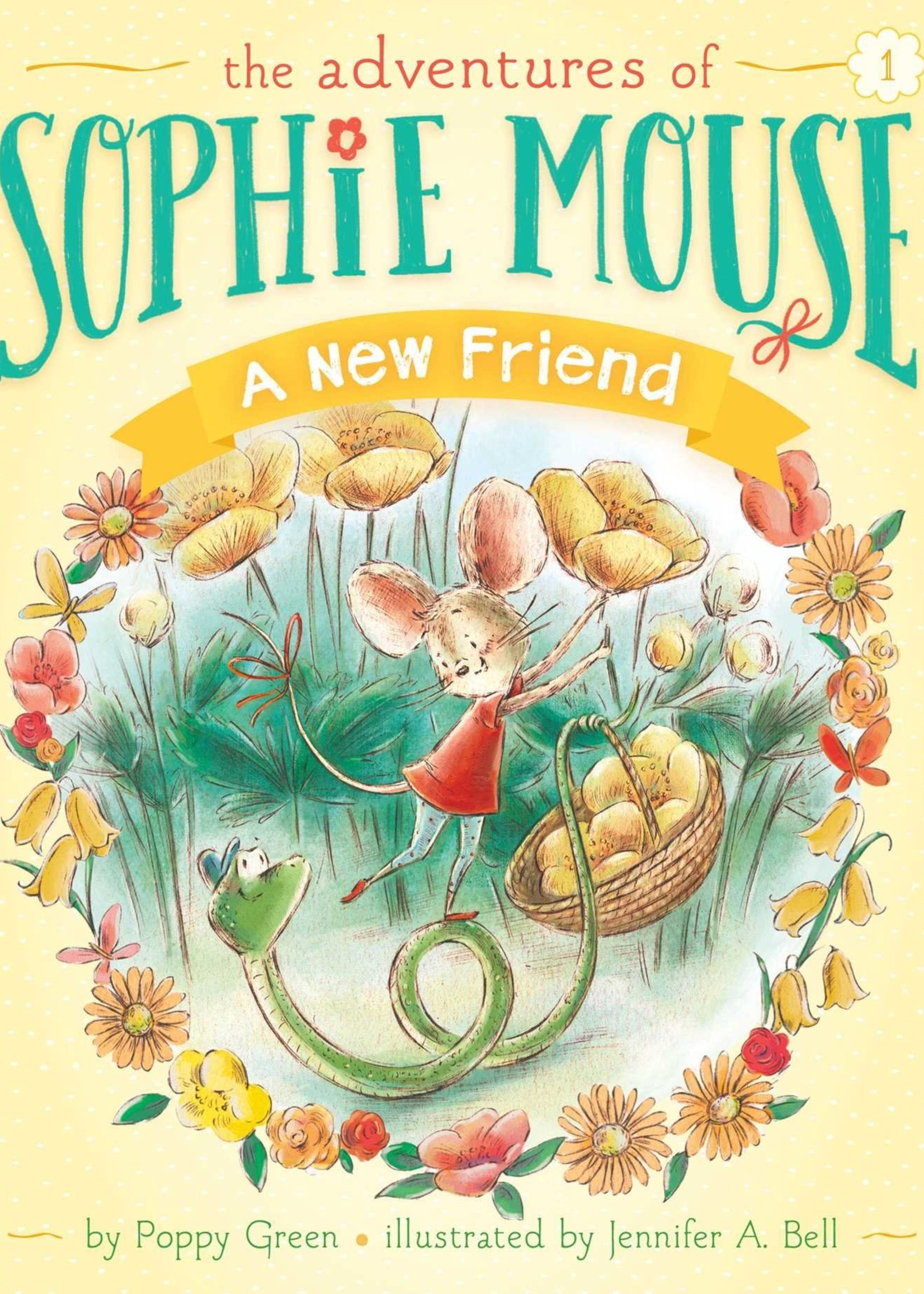 The Adventures of Sophie Mouse #01, A New Friend - Paperback