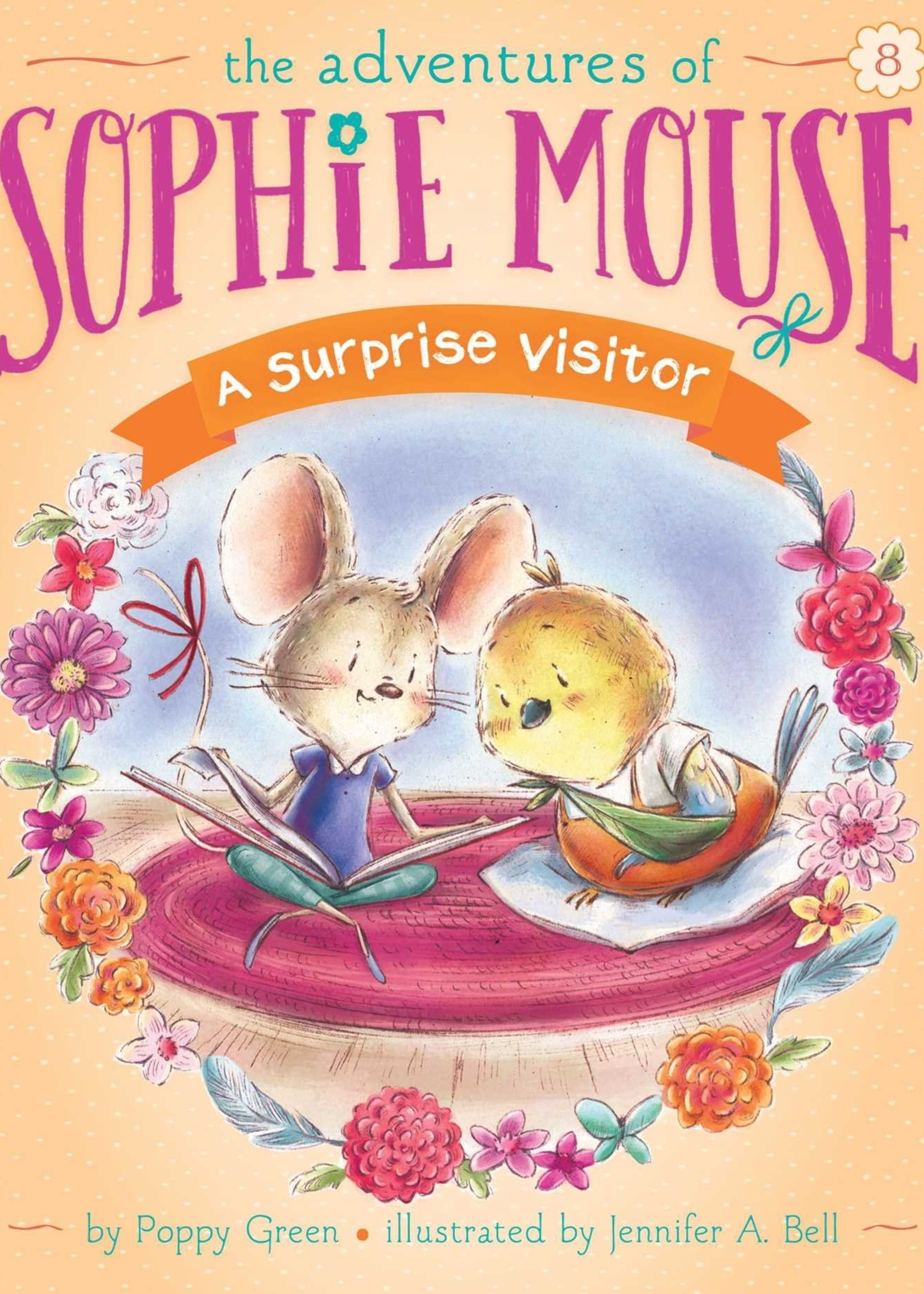 The Adventures of Sophie Mouse #08, A Surprise Visitor - Paperback