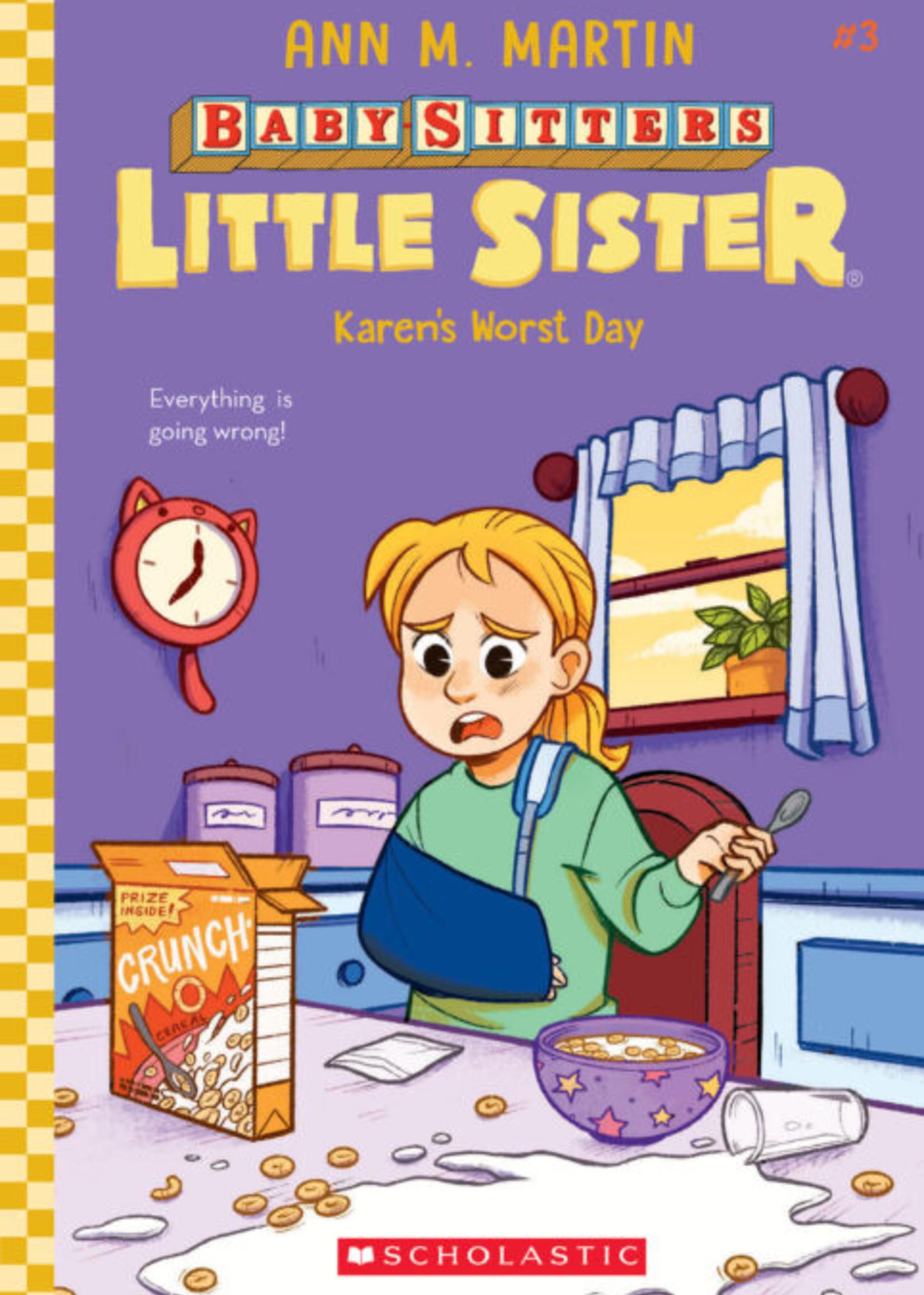 Baby-Sitters Little Sister #03, Karen's Worst Day - Paperback