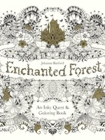 Enchanted Forest, An Inky Quest & Coloring Book - PB