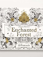 Enchanted Forest Coloring Postcards, 20pc - PB
