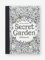 Secret Garden Coloring Postcards, 20pc - PB