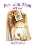 Fun with Sloth Gift Bag, Journal Edition