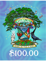 TreeHouse Gift Certificate $100.00, Web Sale
