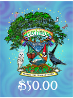 TreeHouse Gift Certificate $50.00, Web Sale